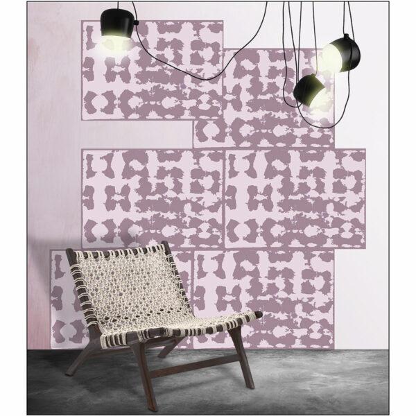 2C-Memory-Old Rose et fond-Deco_Laur-Meyrieux-papierpeint-wallpaper